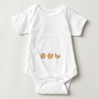 I Run Because I Really Like Cookies Gift Baby Bodysuit
