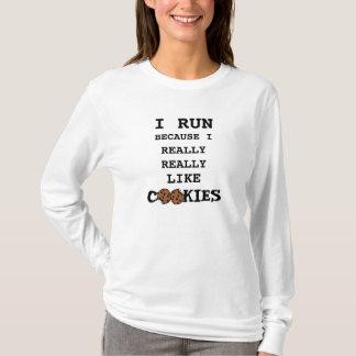 I Run Because I Really Like Cookies Shirt