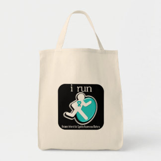 i Run Because Interstitial Cystitis Matters Canvas Bag