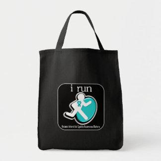 i Run Because Interstitial Cystitis Matters Bag