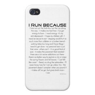 I Run Because iPhone 4 Case