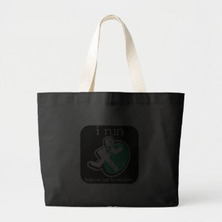 i Run Because Liver Cancer Matters Tote Bag