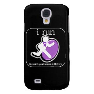 i Run Because Lupus Awareness Mers Galaxy S4 Case