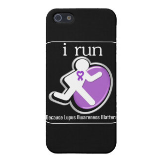 i Run Because Lupus Awareness Mers Cover For iPhone 5