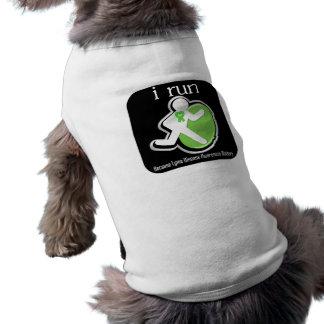 i Run Because Lyme Disease Matters Doggie T Shirt