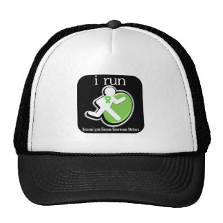 i Run Because Lyme Disease Matters Trucker Hat