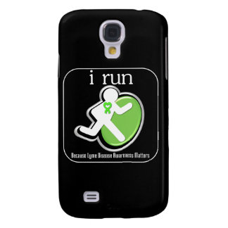 i Run Because Lyme Disease Mers Samsung Galaxy S4 Cases