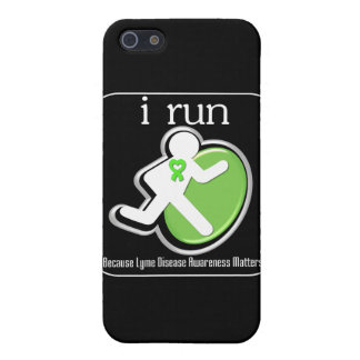 i Run Because Lyme Disease Mers iPhone 5/5S Cover