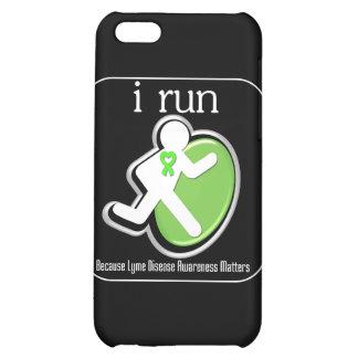 i Run Because Lyme Disease Mers iPhone 5C Covers
