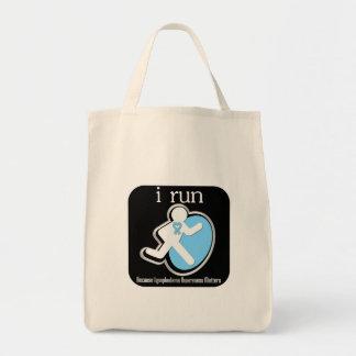 i Run Because Lymphedema Matters Bag