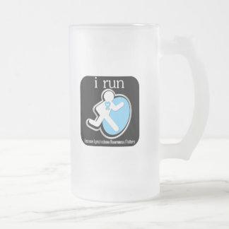 i Run Because Lymphedema Matters Coffee Mug