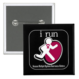 i Run Because Multiple Myeloma Matters Button