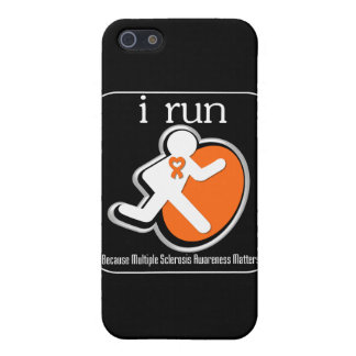 i Run Because Multiple Sclerosis Mers Covers For iPhone 5