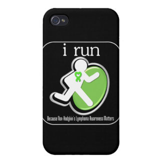 i Run Because Non-Hodgkin's Lymphoma Matters iPhone 4/4S Covers