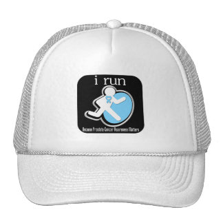 i Run Because Prostate Cancer Matters Hats