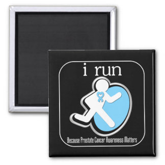 i Run Because Prostate Cancer Matters Magnets