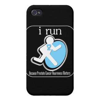 i Run Because Prostate Cancer Mers iPhone 4/4S Covers