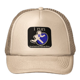 i Run Because Rectal Cancer Matters Mesh Hats