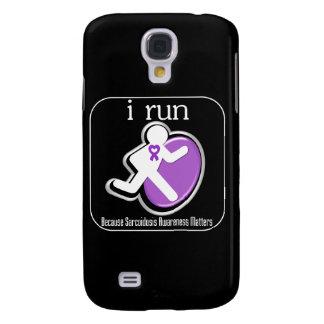 i Run Because Sarcoidosis Awareness Mers Galaxy S4 Cases