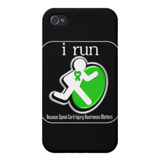 i Run Because Spinal Cord Injury Mers iPhone 4/4S Cases