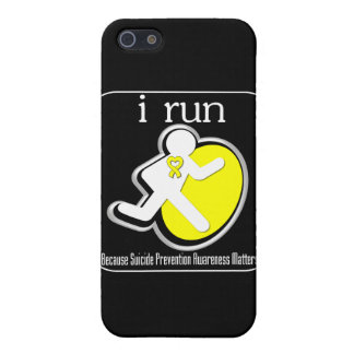 i Run Because Suicide Prevention Matters Cases For iPhone 5