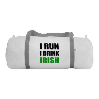 I Run Drink Irish Duffle Bag