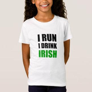I Run Drink Irish T-Shirt