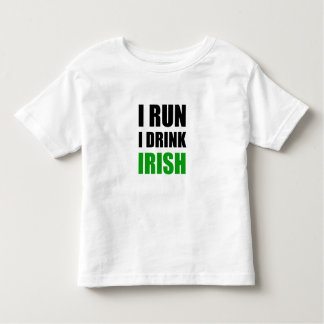 I Run Drink Irish Toddler T-shirt