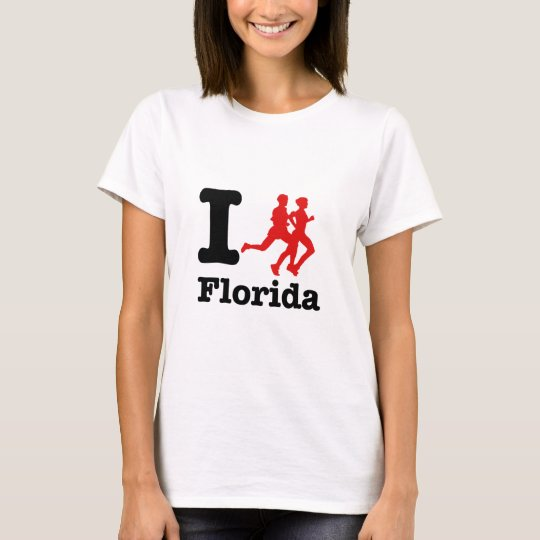 I run Florida T-Shirt