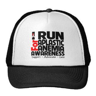 I Run For Aplastic Anemia Awareness Trucker Hat