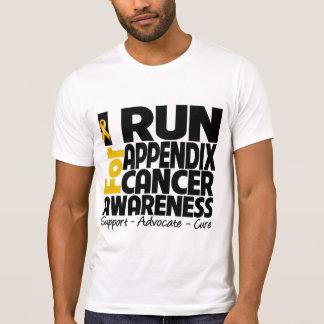 I Run For Appendix Cancer Awareness T-Shirt