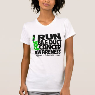 I Run For Bile Duct Cancer Awareness T Shirt