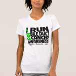 I Run For Bile Duct Cancer Awareness T Shirts
