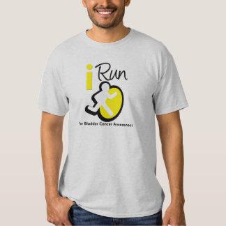 I Run For Bladder Cancer Awareness T-Shirt