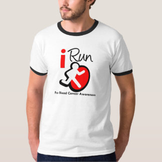 I Run For Blood Cancer Awareness T-Shirt