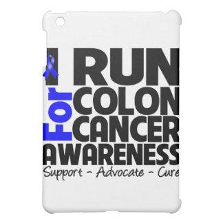 I Run For Colon Cancer Awareness iPad Mini Case