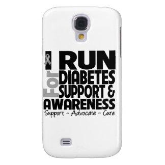 I Run For Diabetes Awareness Samsung Galaxy S4 Case