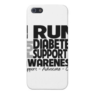 I Run For Diabetes Awareness Case For iPhone 5