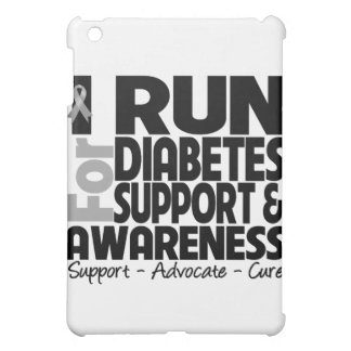 I Run For Diabetes Awareness Cover For The iPad Mini