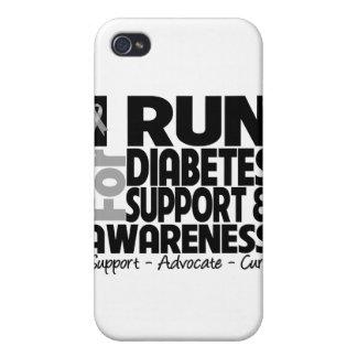 I Run For Diabetes Awareness iPhone 4 Cover