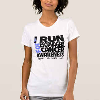I Run For Esophageal Cancer Awareness T Shirt