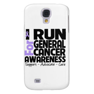 I Run For General Cancer Awareness Samsung Galaxy S4 Cover
