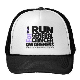 I Run For General Cancer Awareness Trucker Hat