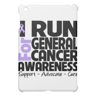 I Run For General Cancer Awareness iPad Mini Cover