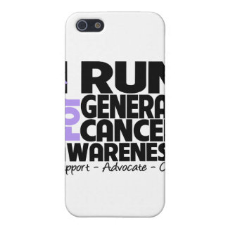 I Run For General Cancer Awareness iPhone 5 Cases