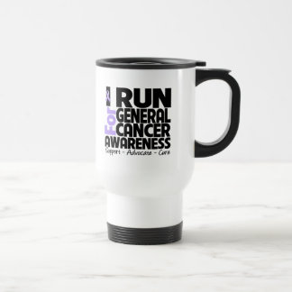 I Run For General Cancer Awareness Coffee Mugs