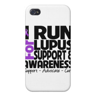 I Run For Lupus Awareness Cases For iPhone 4