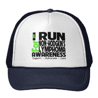 I Run For Non-Hodgkin Lymphoma Awareness Mesh Hats