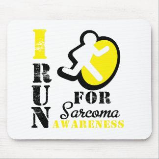I Run For Sarcoma Awareness Mousepad