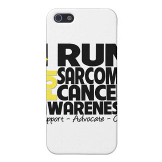 I Run For Sarcoma Cancer Awareness iPhone 5 Cases